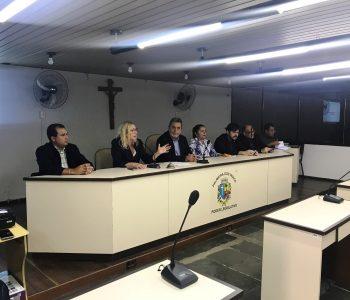 Secretaria de Saúde presta contas na Câmara de Vereadores, em Palmeira