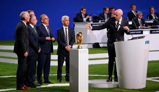 Copa 2026 será realizada em Estados Unidos, Canadá e México