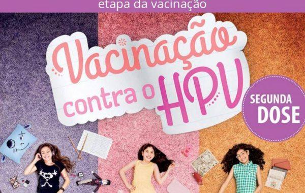 Segunda dose da vacina contra o HPV já está disponível, informa a SMS de Palmeira