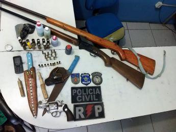 Suspeito de homicídio é preso em Palmeira dos Índios