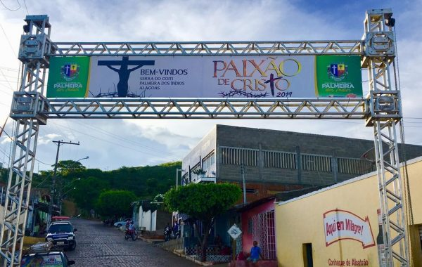 Apresentações da Paixão de Cristo começam nesta quinta (18), em Palmeira