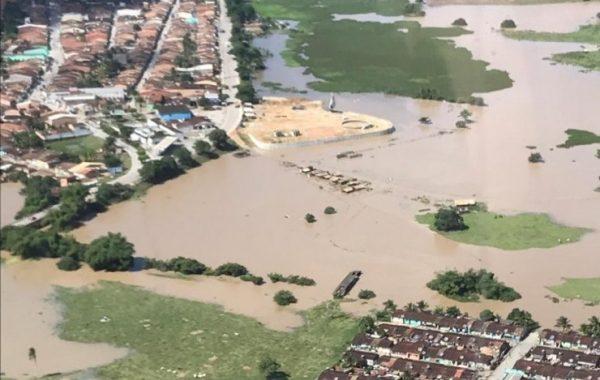 Corpo de Bombeiros faz vistoria em cidades afetadas pelas chuvas