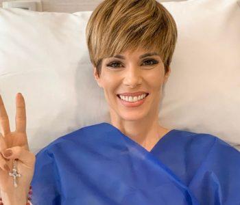 """""""Eu venci"""", comemora Ana Furtado em fim de tratamento contra o câncer"""
