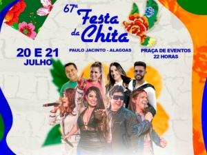 Paulo Jacinto realiza a 67ª Festa da Chita neste fim de semana