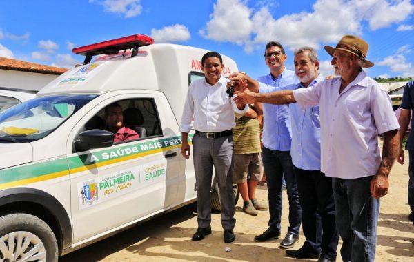 5ª edição do Programa Prefeitura em Ação na sua Comunidade é encerrado com entrega de ambulância, no Bonifácio