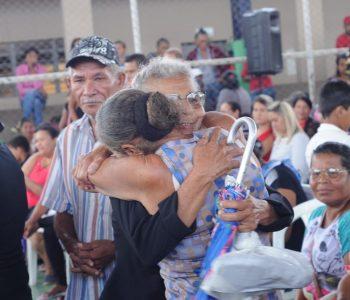 Emoção e muitas lágrimas em mais um sorteio de casas pela Prefeitura de Palmeira