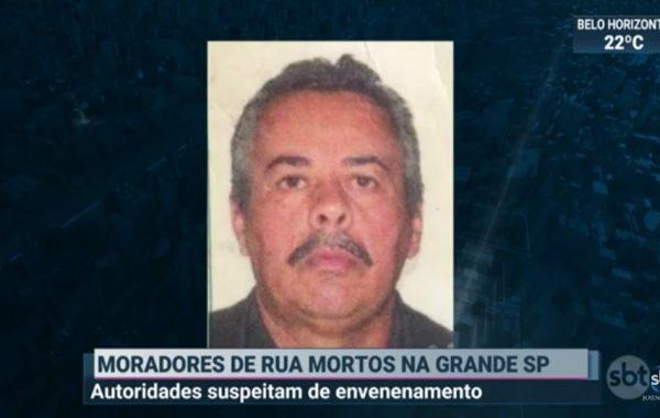 Palmeirense está entre moradores de rua encontrados mortos em SP