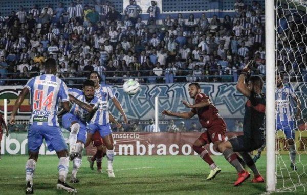 CRB vence nos pênaltis por 5 a 3 e avança na Copa do Brasil