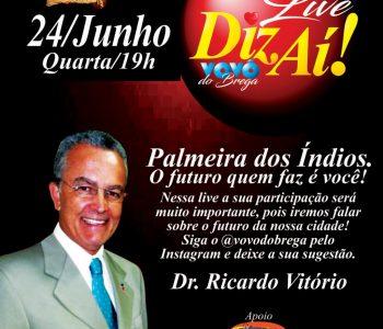 Live Diz Aí, com Dr. Ricardo Vitório