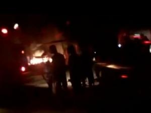 CB é acionado para controlar fogo em assentamento sem-terra em Rio Largo