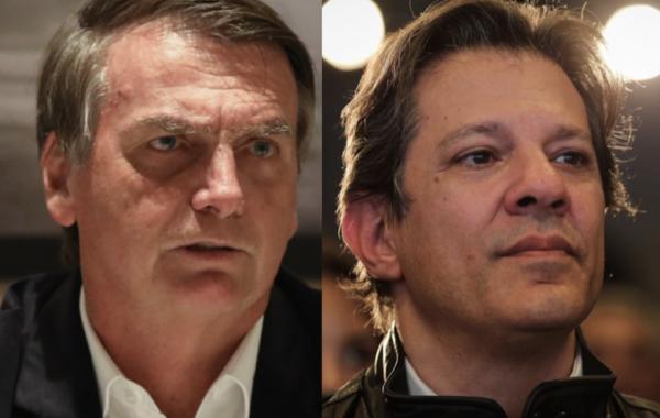 Bolsonaro na liderança; Haddad mantém escalada; Ciro cai, diz BTG/FSB