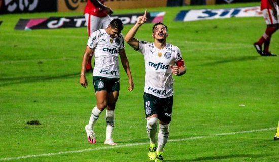 CRB perde para o Palmeiras, no Rei Pelé, no jogo de ida da Copa do Brasil: 1 a 0
