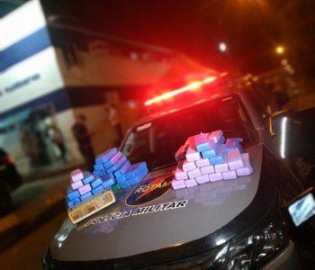Polícia apreende quase 37 kg de maconha em compartimento secreto de veículo na Chã Nova
